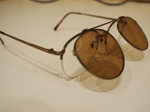 釣り用偏光フィルター付きメガネ