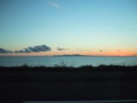 午前5時の国後島