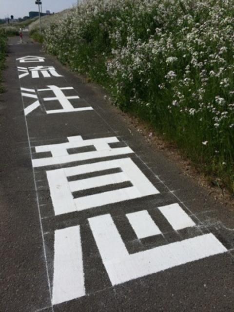 現場向きベクトルフォント [路面標示の描き方]