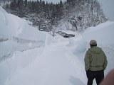雪深い黒渕