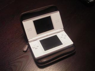 ニンテンドーDS Lite用レザーケース