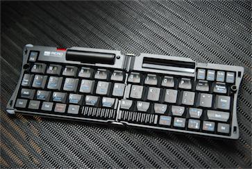 折りたたみキーボード