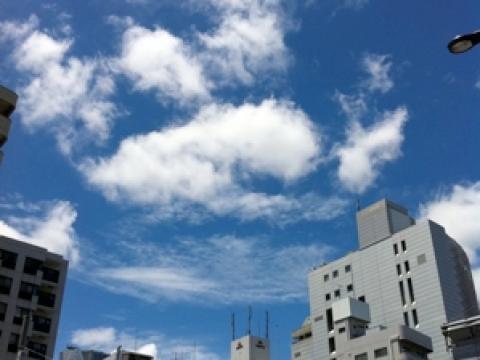 東京にも空がある [台風一過]