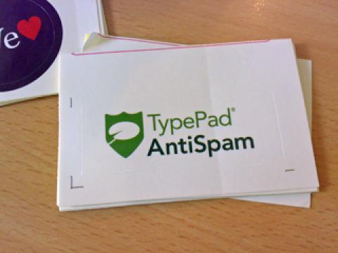 TypePad AntiSpam ステッカー