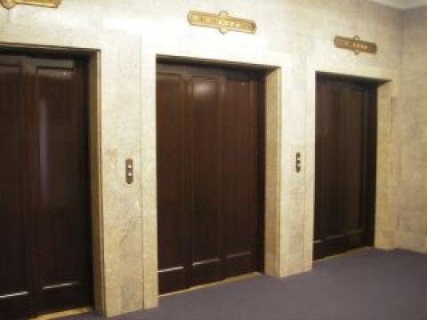 明治生命館のエレベーター