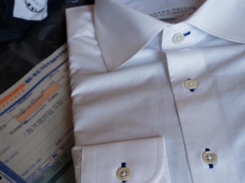 フルオーダーシャツ20ドルから [moderntailor.com]