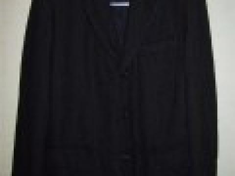 縮絨した布地のジャケット
