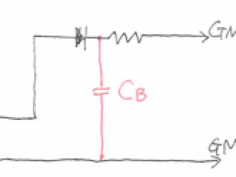 実体配線図 [ガイガーカウンターの改造方法]