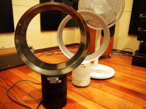 3台の扇風機