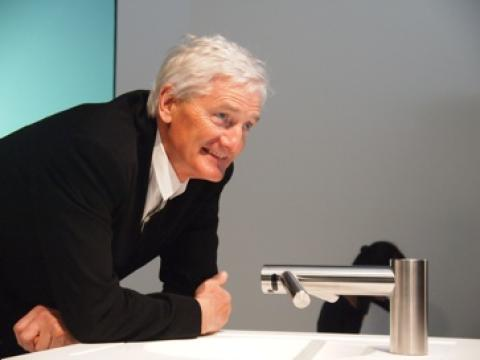 Sir James Dyson with Airblade Tap