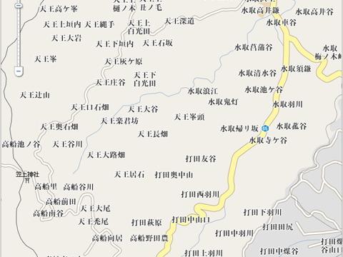雰囲気のある地図